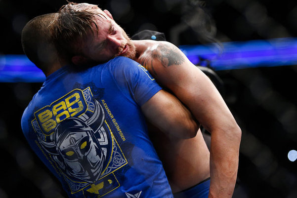 Coach: No Major Injuries for Gustafsson Following UFC 165
