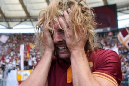 Roma's Federico Balzaretti Bursts into Tears After Scoring Against Lazio