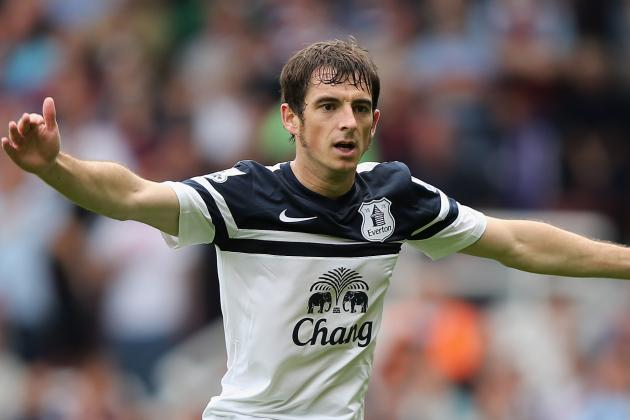 Gareth Barry Believes Everton Team-Mate Leighton Baines Is World Class