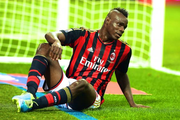 Mario Balotelli Receives 3-Game Ban, Milan Will Not Appeal Ruling