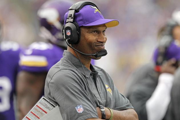 The Clock Is Now Ticking on Leslie Frazier's Reign with the Minnesota Vikings