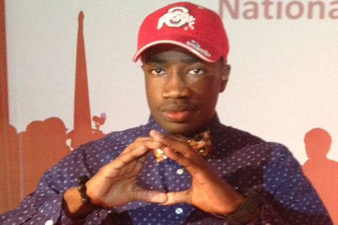 Ohio State Freshman WR James Clark Possibly out for 2013 Season