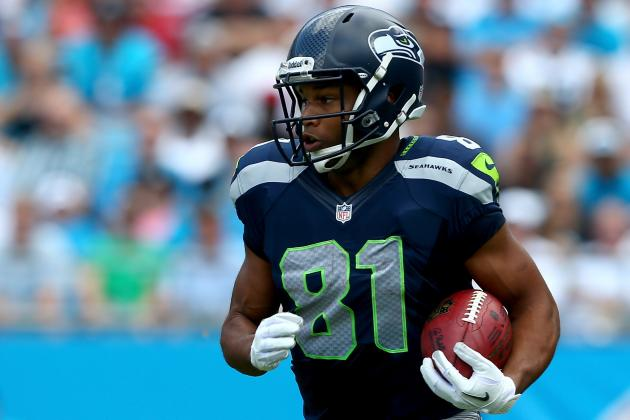 Seahawks' Tate Takes Advantage of His Golden Opportunity