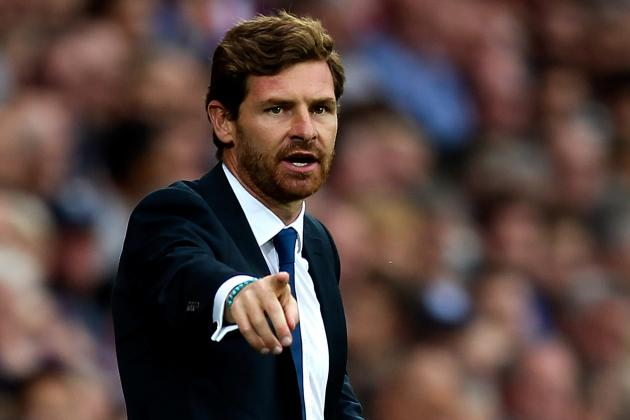 Spurs Boss AVB Vents Frustration at Aston Villa Clash