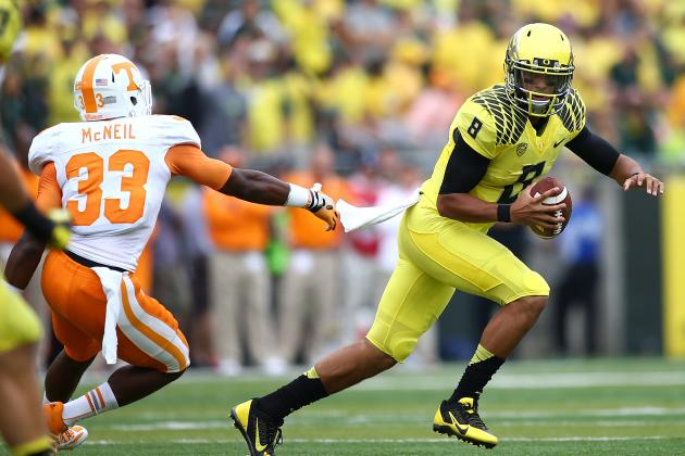 One Advantage Oregon Has over Alabama in a Head-to-Head Matchup