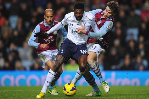 Aston Villa vs. Tottenham: Date, Time, TV Info and Preview