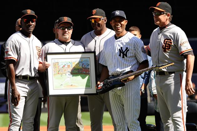 San Francisco Giants Give Mariano Rivera a Customized Guitar