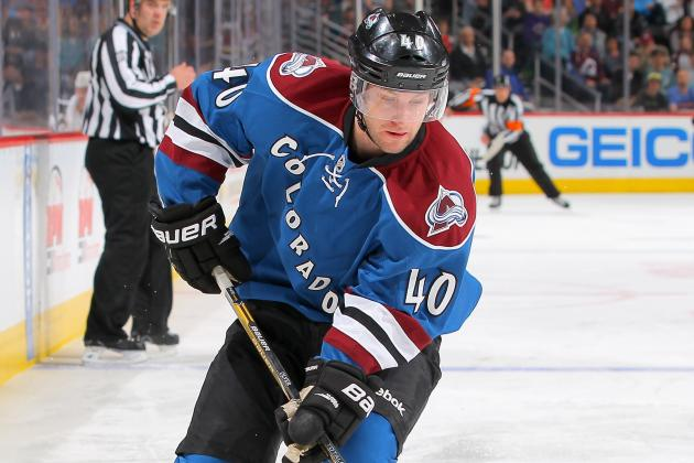 Mark Olver One of Seven Forwards Cut by Colorado Avalanche Monday