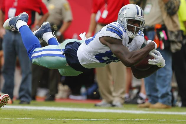 2013 Fantasy Football Wide Receiver Rankings: NFL Week 4