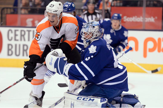 Leafs' Bernier Believes Brawl Helps Team Unity