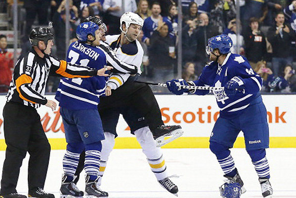 John Scott Explains Why He Attacked Poor, Nearly Defenseless Phil Kessel