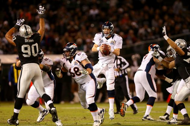 Oakland Raiders vs. Denver Broncos: Live Score, Highlights and Analysis
