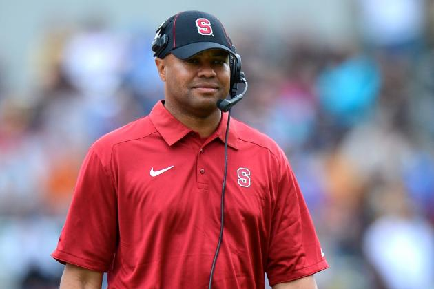 Stanford's David Shaw Says He's Not Tempted by the NFL, and Why Should He Be?