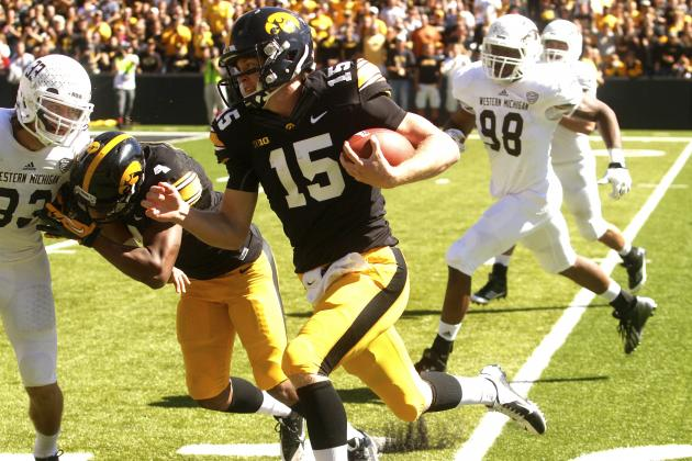 Quietly, Iowa QB Jake Rudock Is Making a Name for Himself in the Big Ten