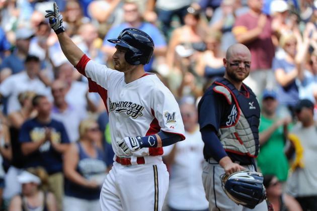 MLB Gamecast: Brewers vs. Braves