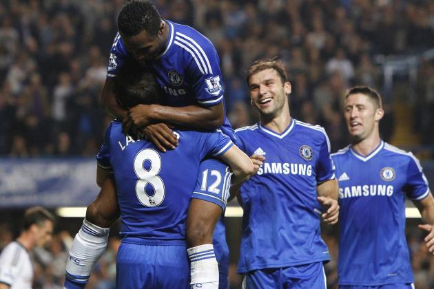 How Chelsea Will Line Up Against Swindon