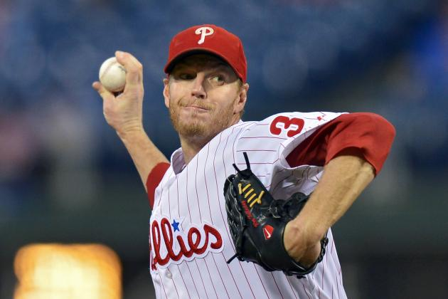 Halladay Leaves After Facing 3 Batters vs. MIA