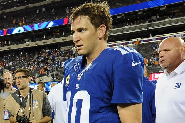 Eli Manning Must Take Stronger Leadership Role If Giants Are to Salvage Season