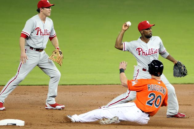 Eovaldi Leads Phillies to 4-0 Win