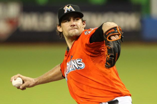 Marlins' Nathan Eovaldi Shuts Down Phillies