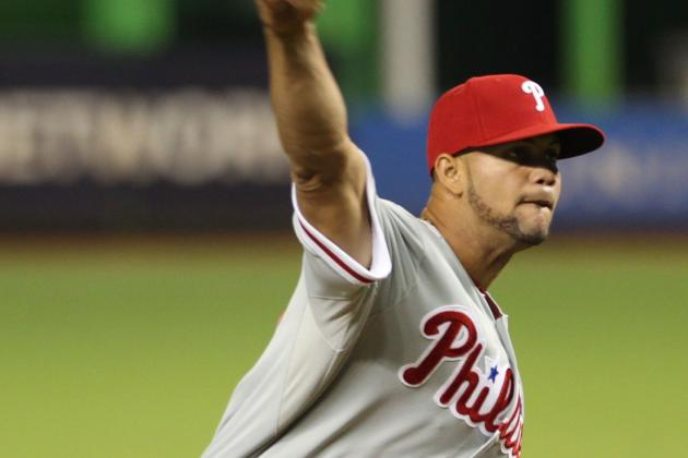 Roy Halladay's Season over as Phillies Blanked by Marlins
