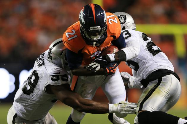 Despite Breakout Game, Broncos Ronnie Hillman Still Fantasy Fool's Gold