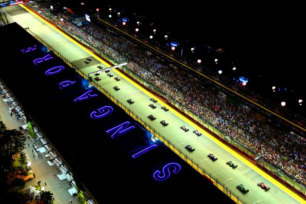 Why Has Singapore Succeeded Compared to Other Asian F1 Tracks?