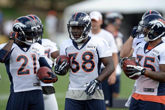 Broncos RBs Played 'rock, Paper, Scissors' to Decide Touchdown Carry