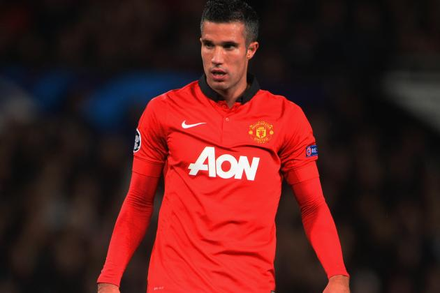 Robin van Persie Ruled Out vs. Liverpool by David Moyes, Doubtful for Weekend