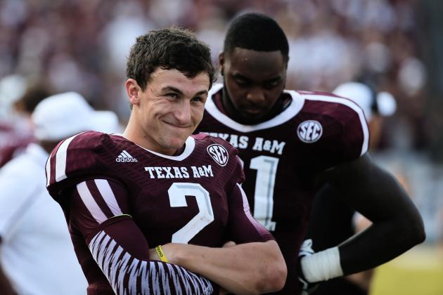 Texas A&M QB Johnny Manziel's Popularity Is Decreasing
