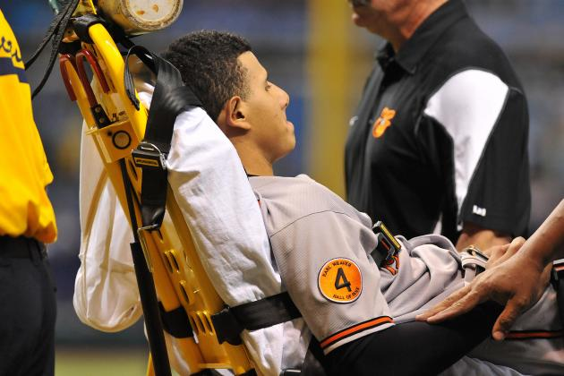 Would Long-Term Manny Machado Knee Injury Derail Orioles 2014 Playoff Hopes?