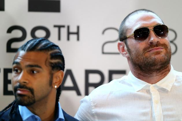 Haye-Fury Fight Rescheduled for Feb. 8, 2014