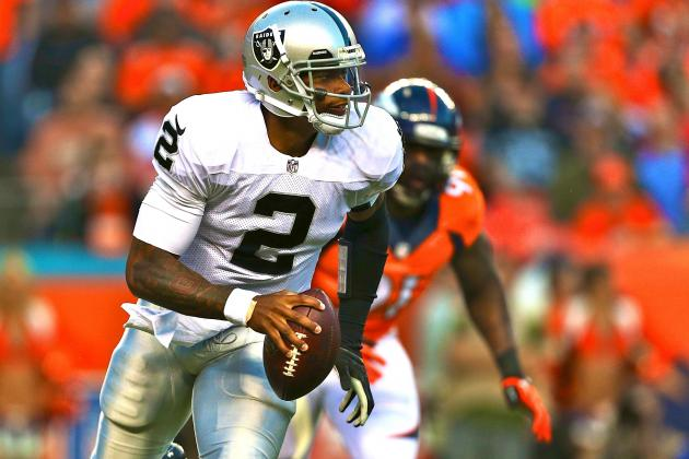 Whatever's Wrong with the Oakland Raiders, It's Not Terrelle Pryor