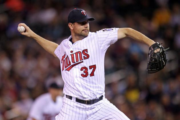 Pelfrey Interested in Returning to Twins in 2014