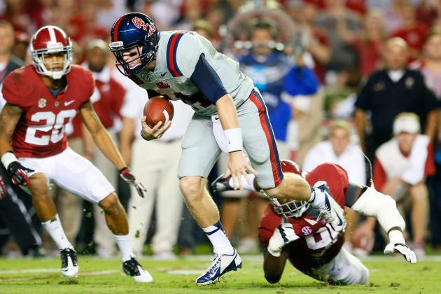 Ole Miss vs. Alabama: How Bye Week Helps Rebels' Chances to Upset the Tide