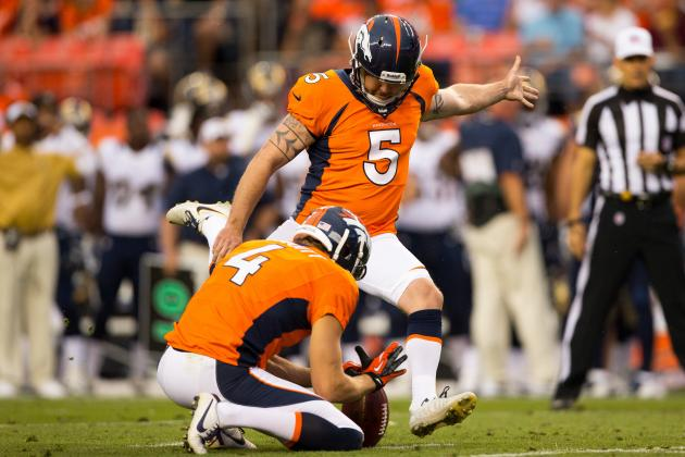 2013 Fantasy Football Kicker Rankings: NFL Week 4