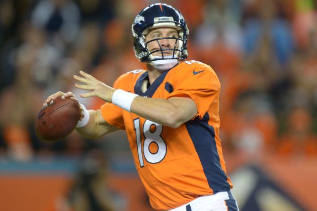 Crunching the Numbers on Peyton Manning's Ridiculous Record Pace