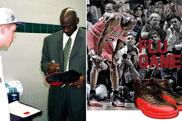 Michael Jordan's Autographed 'Flu Game' Shoes Are Going Up for Auction