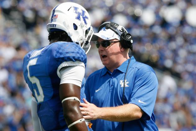 Kentucky Football Hopes to Eliminate Drops