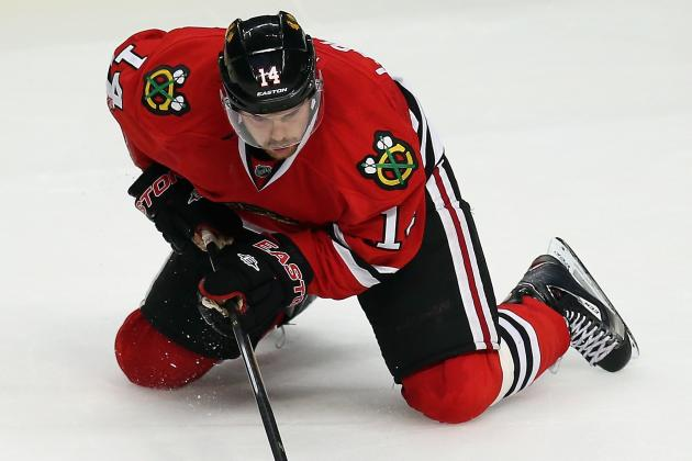 Blackhawks Reduce Training Camp Roster by Eight