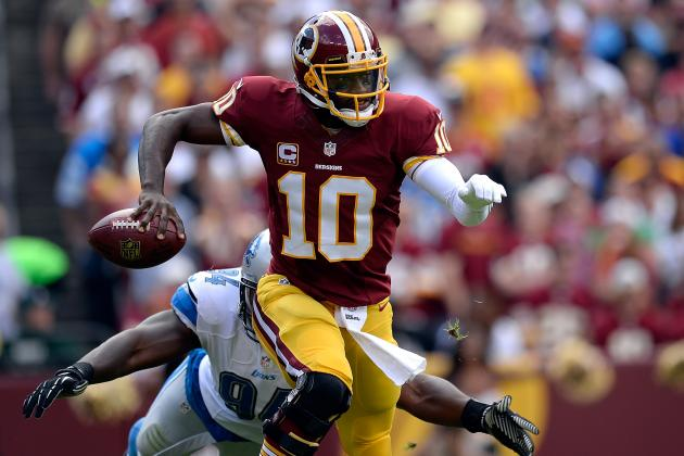 Robert Griffin III Is Must-Start Fantasy QB for Week 4