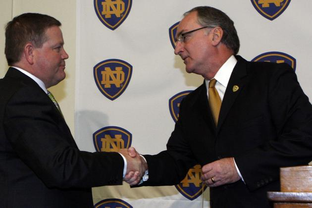Notre Dame's Jack Swarbrick, Reportedly a Recommended Replacement...