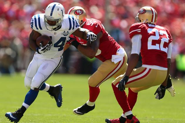 San Francisco 49ers Look Human vs. Seattle Seahawks and the Indianapolis Colts