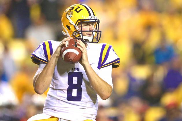 How LSU QB Zach Mettenberger Went from Inconsistent to Solid in 1 Year