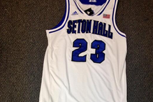Photo: Seton Hall Unveils New 2013-14 Basketball Uniforms