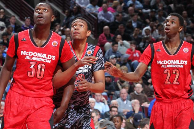 Is Andrew Wiggins a Lock to Go No. 1 Overall in 2014 NBA Draft?
