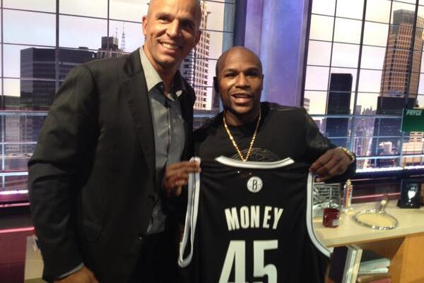 Floyd Gets Custom-Made Nets Jersey with No. 45