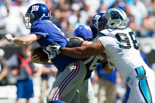 Breaking Down the New York Giants' Massive Pass-Protection Problem