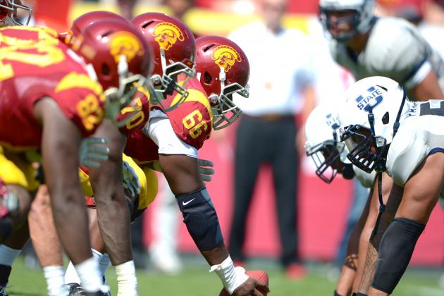 USC Offensive Line vs. Arizona State Defensive Line Will Determine Matchup