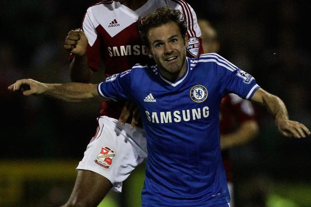 Jose Mourinho Uses Capital One Cup to Continue Juan Mata's Chelsea Re-Education